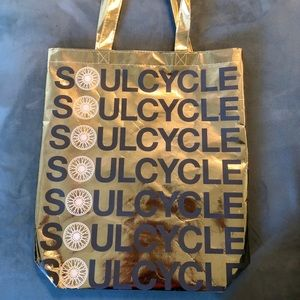 Gold Limited Edition SoulCycle Tote Bag✨